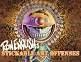 img - for Ron English's Stickable Art Offenses: A Sticker Book book / textbook / text book