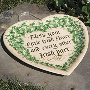 Irish Heart Plaque
