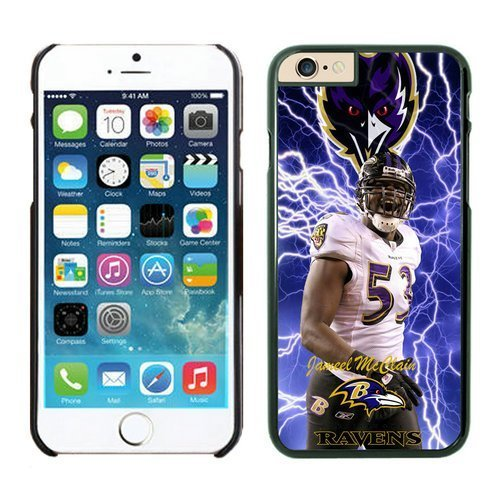 Baltimore Ravens Jameel McClain iPhone 6 Cases 02 Black 4.7 inches63428_53499 by kobestar
