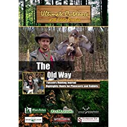 Ultimate Outdoors with Eddie Brochin The Old Way Falconry Hunting - Hunts for Pheasants and Rabbits