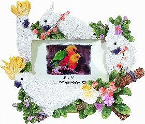 Dog Picture Frame - Cockatoos (4x6)