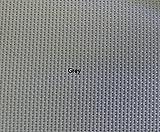 Suntextilene 95 PVC Coated Polyester Sunscreen Fabric 72in Wide (Grey, 72