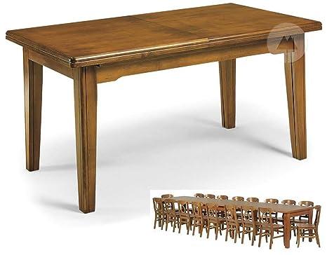 Tavolo 8 gambe allungabile a 3,60 cm 16 posti - 180x85 all. a 360 x85
