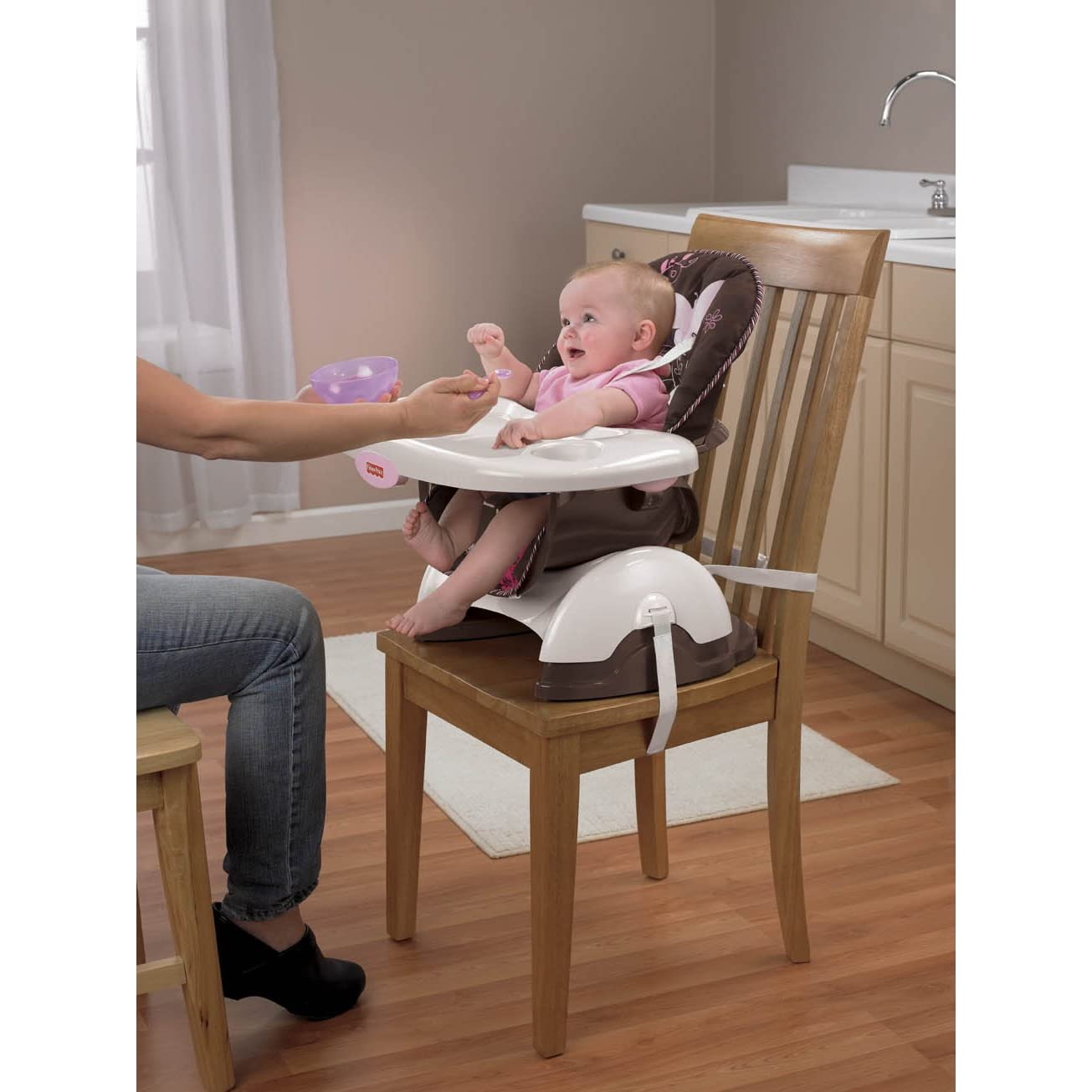 Silla de comer booster para bebe fisher price de lujo for Silla fisher price para comer