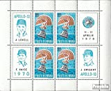 Romania block77 (complete.issue.) fine used / cancelled 1970 Apollo 13 (Stamps for collectors)