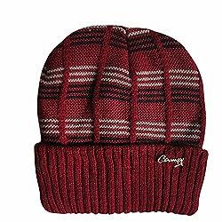 Camey men red skull cap