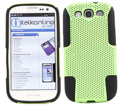 italkonline-fuzion-netto-protezione-doppia-duro-verde-maglia-fondello-copertina-nero-in-silicone-gel