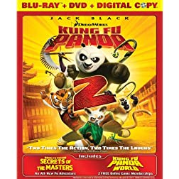 Kung Fu Panda 2 / Secrets of the Masters (Two-Disc Blu-ray/DVD Combo + Digital Copy)