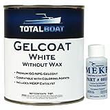 TotalBoat Gelcoat (White, Quart No Wax) (Color: White, Tamaño: Quart No Wax)