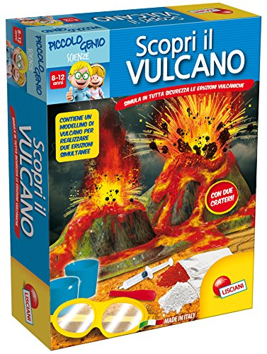 Lisciani Giochi 48939 - Piccolo Genio Scopri Il Vulcano