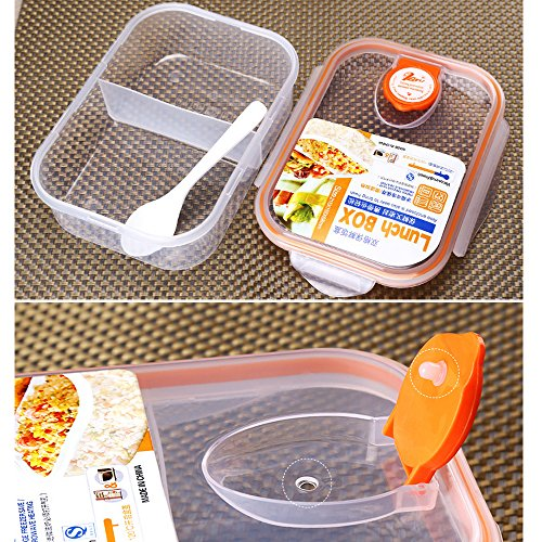 Ieasycan Plastic Storage Box Microwavable Food Container Kitchen Organizer Bento Lunch Box Vacuum Boxes For Home Decor (Fruit Containera compare prices)