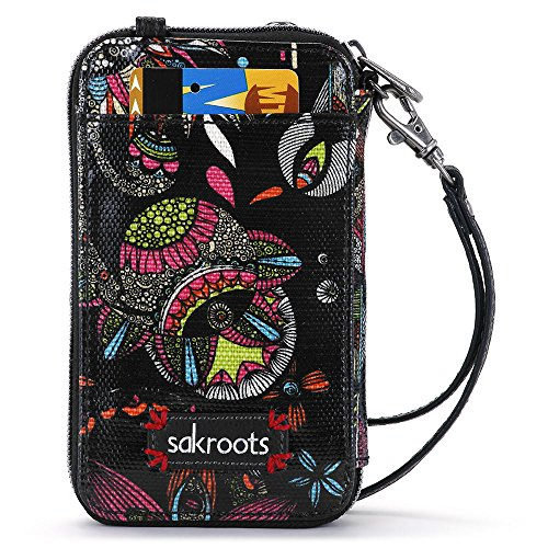 sakroots-womens-smartphone-wristlet-convertible-cross-body-bag-neon-spirit-desert