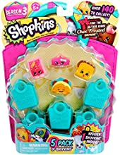 Shopkins, Season 3, 5-Pack (Characters May Vary)