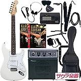 SELDER セルダー エレキギター ストラトキャスタータイプ サクラ楽器オリジナル ST-16/WH リミテッドセットプラス -