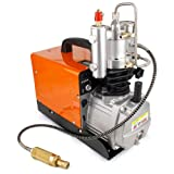 Updated 110V 30Mpa High Pressure Air Compressor Pump 4500PSI Electric Air Compressor for Inflation Bottle Pneumatic Airgun Scuba Rifle PCP Inflator