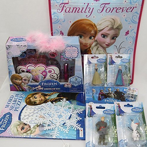 Frozen Toys for Girls Disney Super Megapack Play Set 10 PIeces