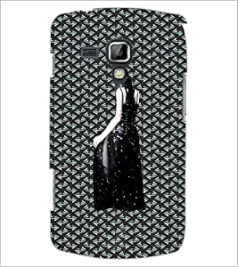PrintDhaba Black Angel D-5642 Back Case Cover for SAMSUNG GALAXY S DUOS 2 S7582 (Multi-Coloured)