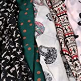 BMC-Stylish-5pc-Lightweight-Summer-Scarf-Printed-Collection-Various-Designs
