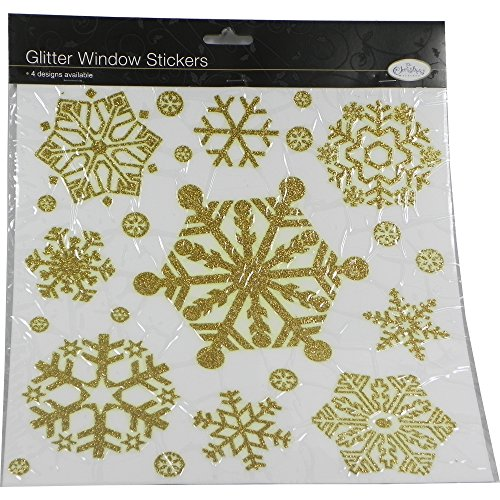 christmas-snowflake-window-stickers-in-gold