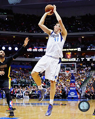 "Dirk Nowitzki Dallas Mavericks 2014-2015 Nba Photo (Size: 8"" X 10"")"