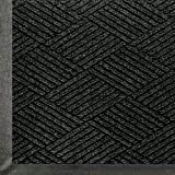 "Andersen 2295 WaterHog Eco Premier PET Polyester Fiber Entrance Indoor/Outdoor Floor Mat, SBR Rubber Backing, 3' Length x 2' Width, 3/8"" Thick, Black Smoke"