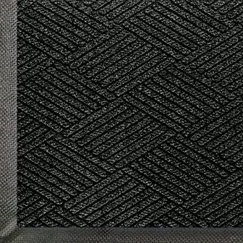 Andersen 2295 WaterHog Eco Premier PET Polyester Fiber Entrance Indoor/Outdoor Floor Mat, SBR Rubber Backing, 3 Length x 2 Width, 3/8