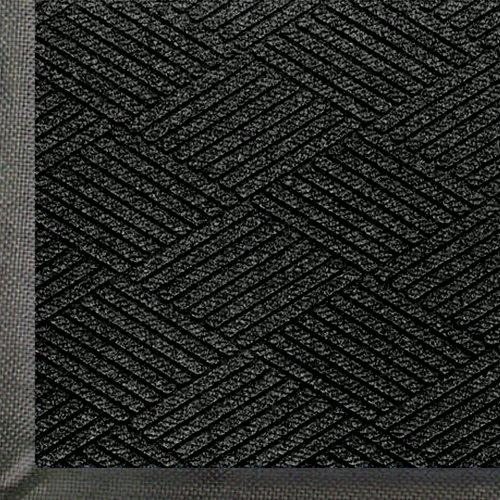 Andersen 2295 Black Smoke Pet Polyester Waterhog Eco Premier Entrance Mat, 6' Length X 4' Width, For Indoor/Outdoor front-468546