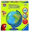 Ravensburger - 11434 - Puzzle Enfant - Mappemonde - 180 Pi�ces