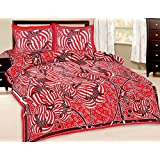 Fab Rajasthan Unique Arts Latest Designer Abstract Print Pure Cotton Double Bedsheet Or Bed Spreads With Two Pillow...