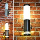 Aussenleuchte Aussenlampe Wandleuchte Edelstahl 232A2 LED