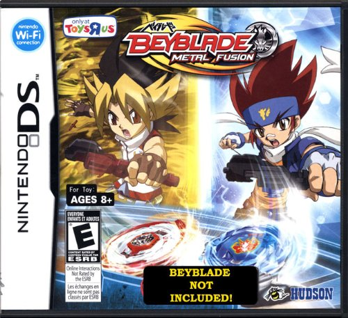 Beyblades Nintendo DS Video Game Beyblade Metal Fusion TRU Version Beyblade NOT included!