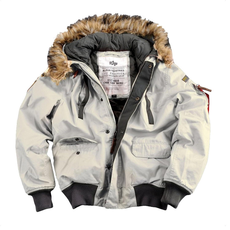 "Alpha Ind. Jacke ""Mountain Jacket"" – off white S-3XL NEU jetzt kaufen"