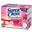 SUPER CROIX  - Lessive en tablettes - CACHEMIRE - 1.215 kg / 36 doses / 18 lavages
