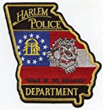 Harlem Georgia Home of the Bulldogs Police Patch at Amazon.com