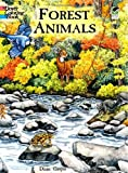 img - for Forest Animals Coloring Book (Dover Nature Coloring Book) book / textbook / text book