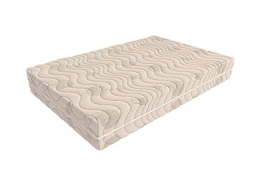 Foppapedretti Memorytreeflex Materasso, Schiuma Poliuretanica, Bianco, 140 x 200 cm, A una Piazza e Mezza