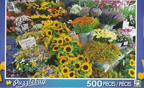 Puzzlebug 500 - Flower Stall, Bavaria