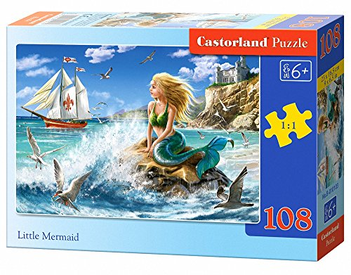 Castorland Little Mermaid Jigsaw (108-Piece)