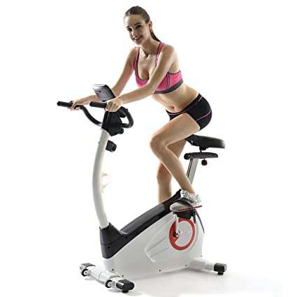 Upright bike's main features