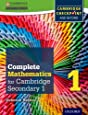 Complete Mathematics for Cambridge Secondary 1 Student Book 1: For Cambridge Checkpoint and beyond