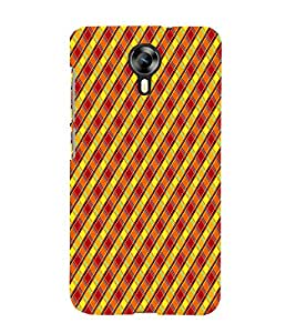 Cross Checks Pattern 3D Hard Polycarbonate Designer Back Case Cover for Micromax Canvas Xpress 2 E313 :: Micromax Canvas Xpress 2 (2nd Gen)
