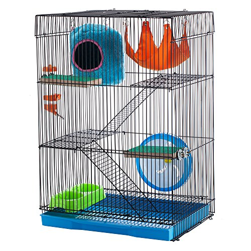 Mounted Home-Small Animal Cage Large 61bzue 2BqiyL