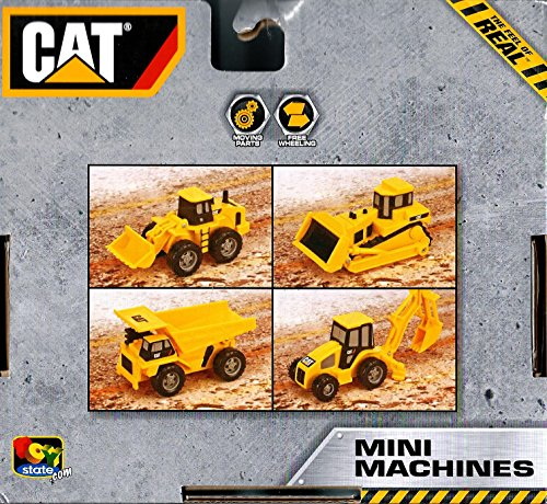 Cat Mini Machines 4pk - 1