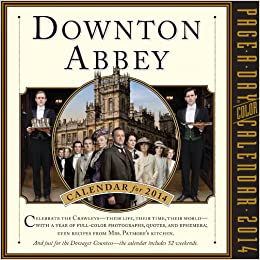 Downton Abbey 2014 Page-a-Day Calendar Calendar – August 15, 2013
