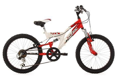 "KS Cycling Zodiac Vélo VTT Enfant 20"" 31 cm"