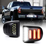 GemPro 2Pcs License Plate Tag Light Lamp Housing For 2002 to 2013 Toyota Tundra 2005 to 2015 Tacoma Pickup Truck