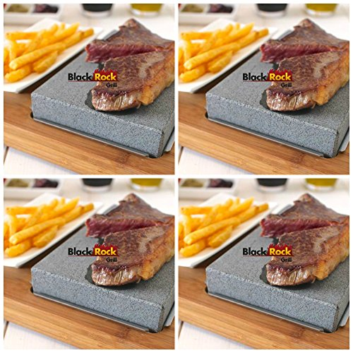 Lava Stone Steak Set of 4