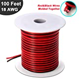 Wellite Silicone Stranded Hook Up Wire 18 Gauge 600V Flexible Wire Cable 26.2ft,6 Colors Kits