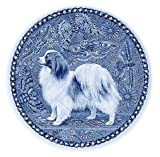 デンマーク製 ドッグ・プレート (犬の絵皿) 直輸入! Phalene / ファーレーヌ