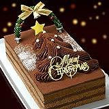 クリスマスケーキ2016年(生チョコレートツリーケーキ)